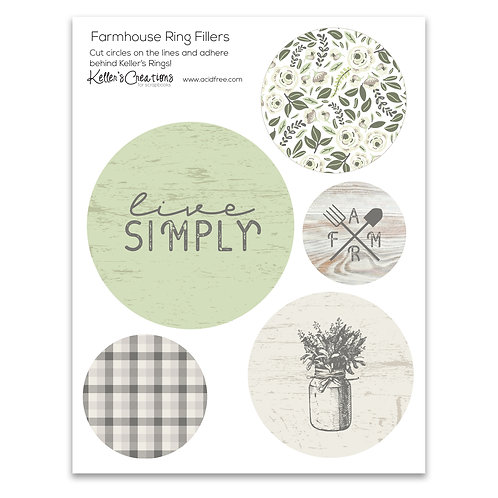 Farmhouse Ring Fillers