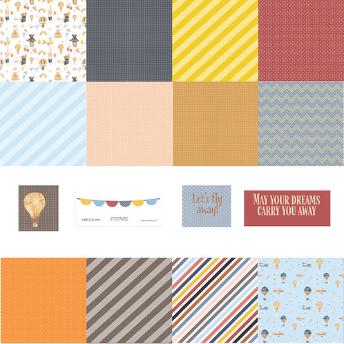 Sky's the Limit 4x4 Fun Sheets