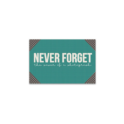 Never Forget... Flash Card
