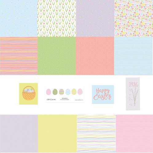 Springtime 4x4 Fun Sheets