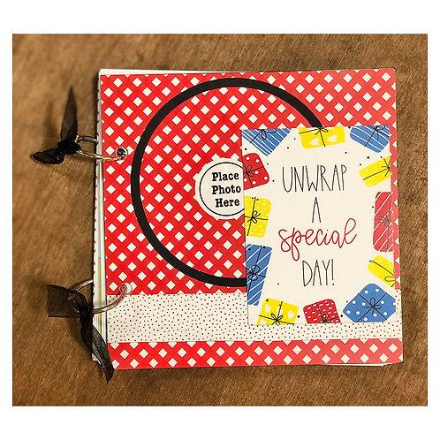 Birthday Wishes 6x6 Mini Book Kit