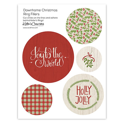 Down Home Christmas Ring Fillers