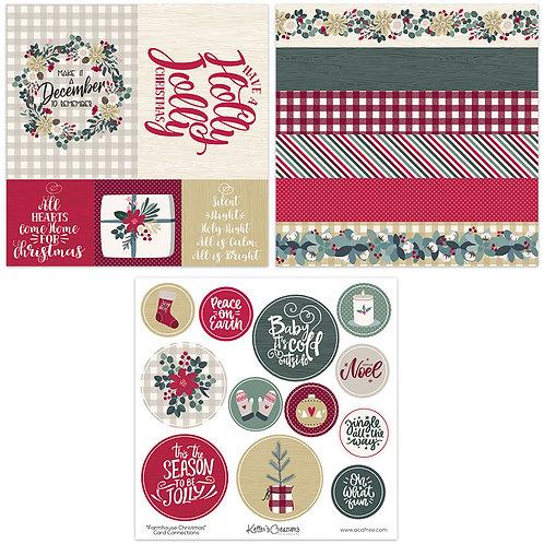 Farmhouse Christmas Card Connections