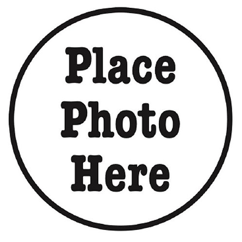 Place Photo Here Stamp