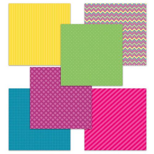 My Birthdays-Purple (Story Tag) 6 x 6 Fun Sheets
