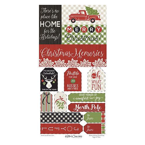 Down Home Christmas Tags & Titles