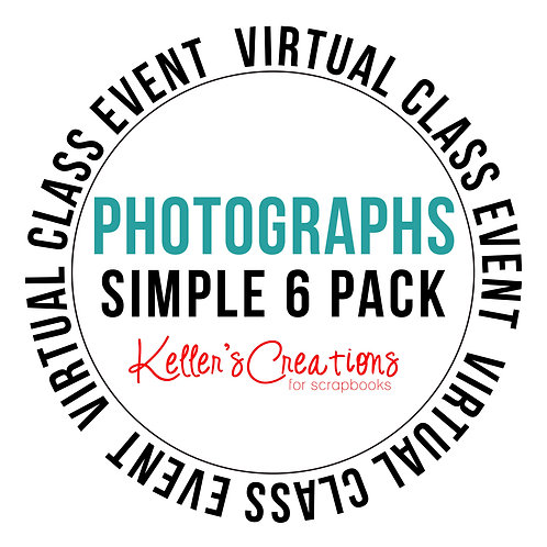 Photographs Simple 6 Pack Class Box