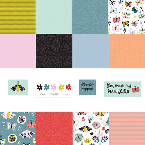 Butterfly Wishes 4x4 Fun Sheets