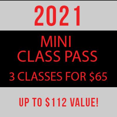 Mini Class Pass—Thomasville Virtual SISS