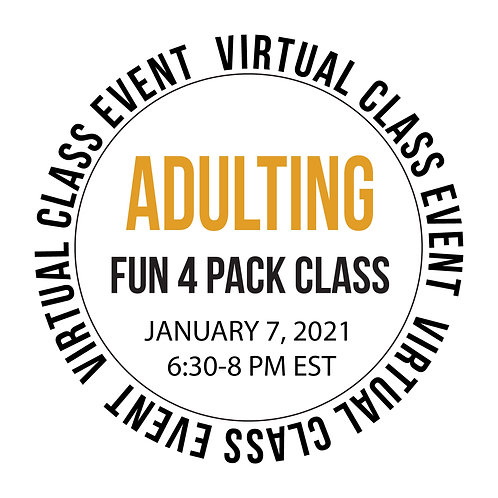 Adulting 4 Pack Class Box