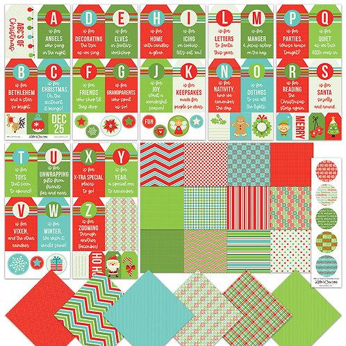 Christmas-ABC Tag BUNDLE