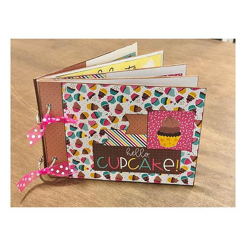 Cupcake 5x7 Mini Book Kit