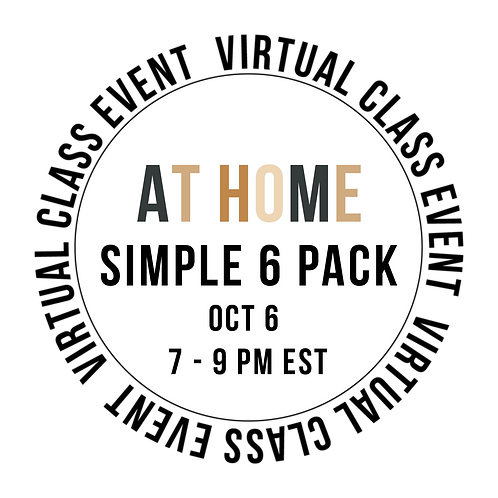 At Home Simple 6  Pack Class Box