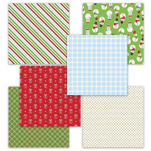 Season of Joy 6 x 6 Fun Sheets