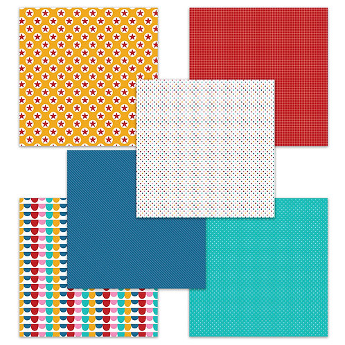 Birthday Party 6 x 6 Fun Sheets