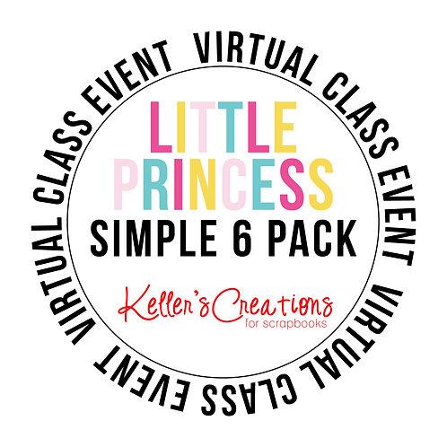 Little Princess Simple 6  Pack Class Box