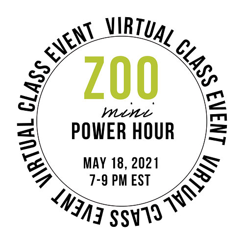 Zoo MINI Power Hour Class Box