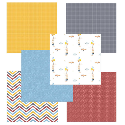 Sky's the Limit 6 x 6 Fun Sheets