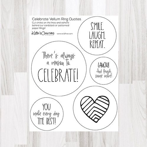 Celebrate Ring Quotes