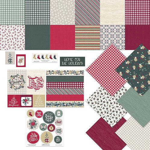 Farmhouse Christmas Card Connection Bundle