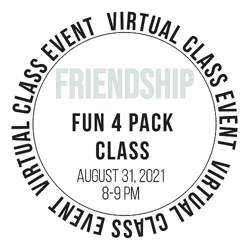 Friendship Fun 4 Pack Class Box