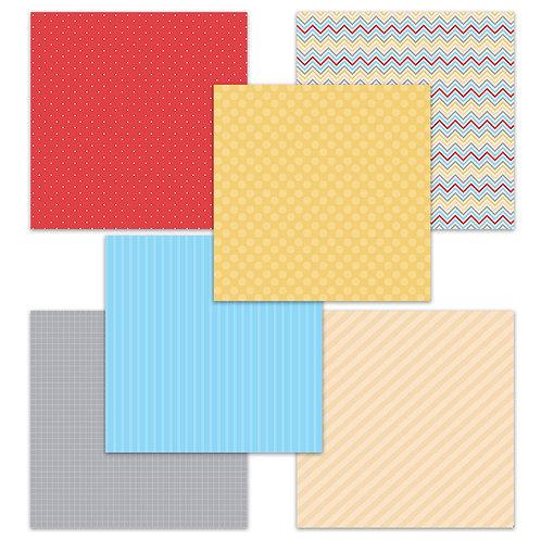 School Days (Story Tag) 6 x 6 Fun Sheets