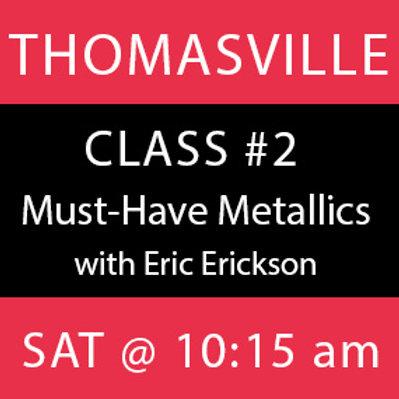 Class #2—Thomasville