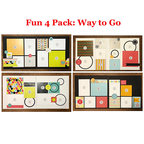 Fun 4 Pack: Way to Go