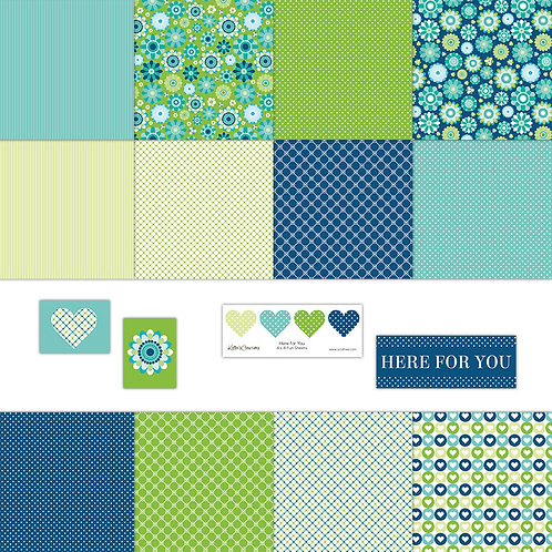 Here for You 4x4 Fun Sheets