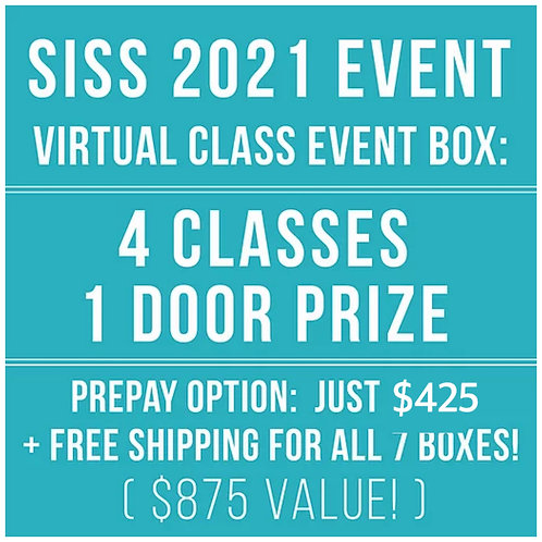 PRE-PAY: SISS 2021 VIRTUAL BOXES (ALL 7!)