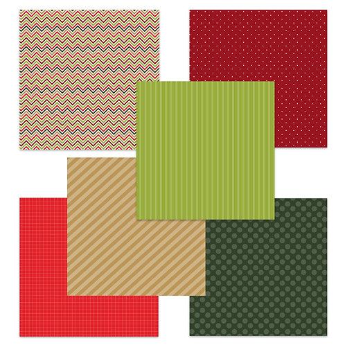 Christmas (Story Tag) 6 x 6 Fun Sheets