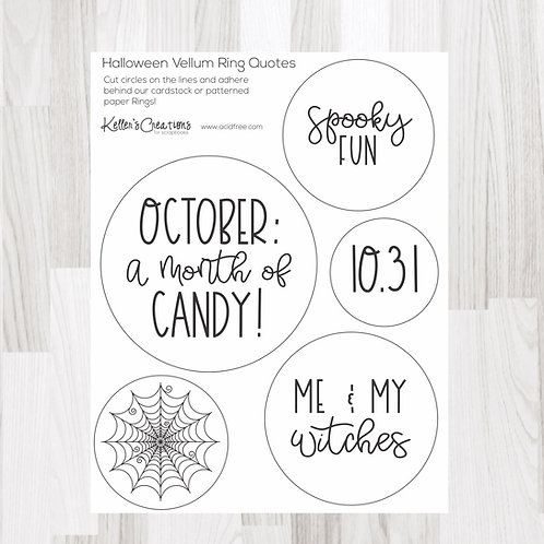 Halloween Ring Quotes