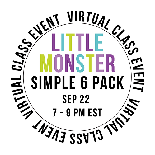 Little Monster Simple 6  Pack Class Box