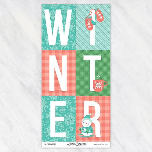 WINTER-WORDS