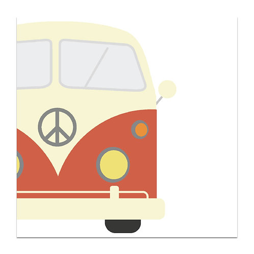 Peace Van - 5x5 Simple Note