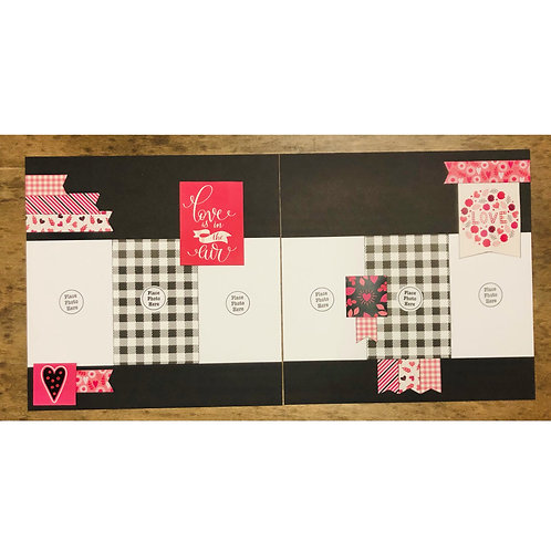 Love Is In the Air Page Kit