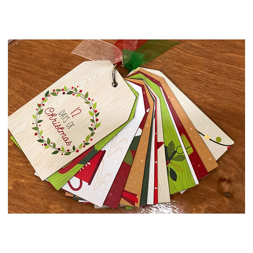 12 Days of Christmas Story Tag KIT