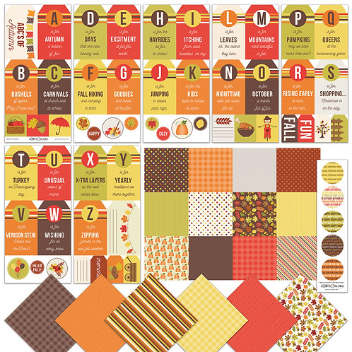 Autumn-ABC Tag BUNDLE