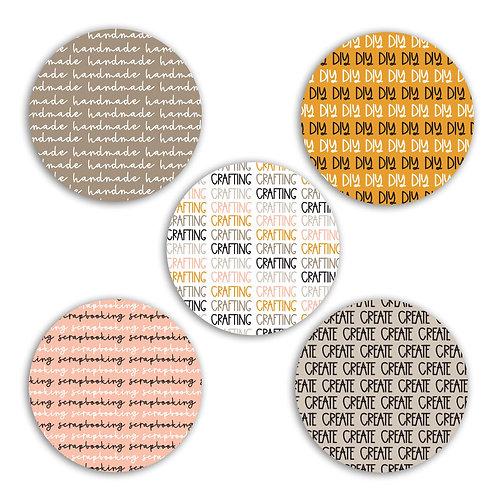 Crafty 2-inch Circles