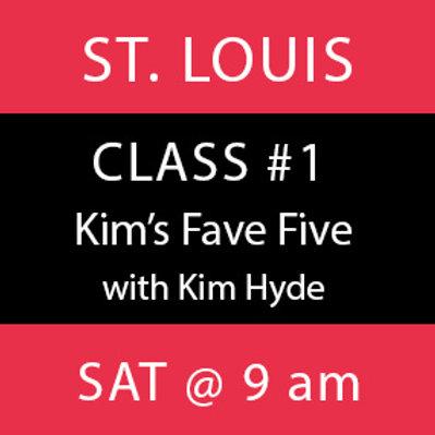 Class # 1—St. Louis
