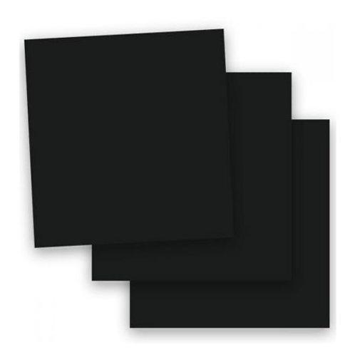 Perfect Black Cardstock