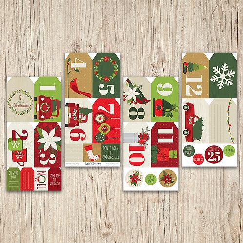 12 Days of Christmas Story Tags