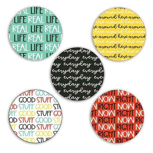 Real Life 2-inch Circles
