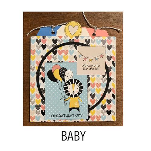 Baby Pocket Accordion Book Kit
