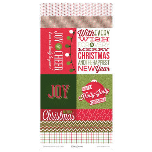Christmas Wishes Quick Cards