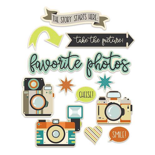 Photographs Die Cuts