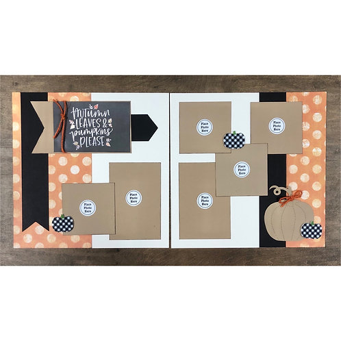 Autumn Leaves Page Kit