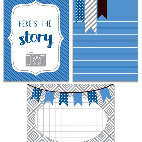 Here's the Story- Journal It Fast Cards