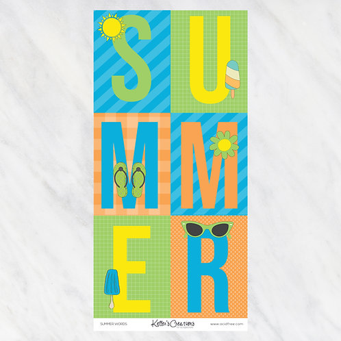 SUMMER-WORDS