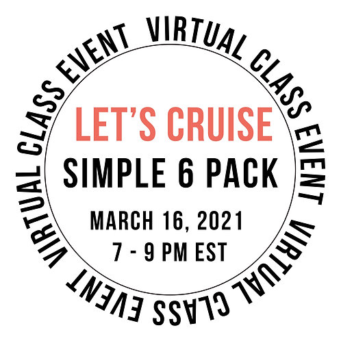 Let's Cruise Simple 6 Pack Class Box